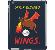 Spicy Buffalo Wings iPad Case/Skin