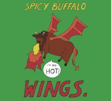 Spicy Buffalo Wings One Piece - Short Sleeve
