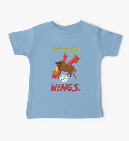 Spicy Buffalo Wings Baby Tee