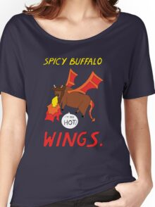 Spicy Buffalo Wings Women's Relaxed Fit T-Shirt