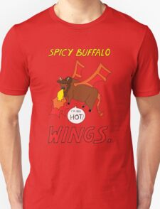 Spicy Buffalo Wings Unisex T-Shirt