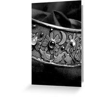 Macro- Bracelet Greeting Card