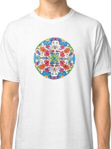 Colored Pencil Mandala Classic T-Shirt