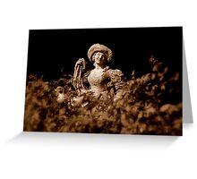 Le Jardin Secret ~ Part Two Greeting Card
