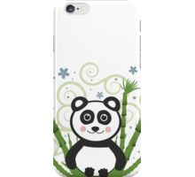 Cute Baby Panda Vector Illustration iPhone Case/Skin