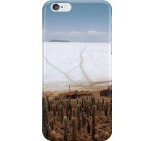 Fish Island, Salar de Uyuni, Bolivia iPhone Case/Skin