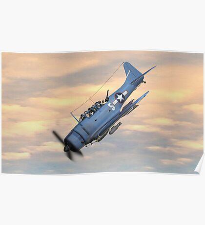 SBD Dive Bomber Poster