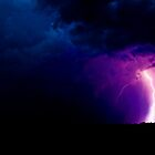 Lightning - Severe Thunderstorm by Brett Wicker