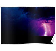 Lightning - Severe Thunderstorm Poster