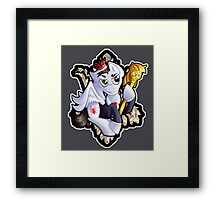 MLP: Jim Moriarty Framed Print