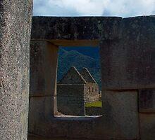 Window to the Old World, Machu Picchu, Peru by Martyn Baker   Martyn Baker Photography