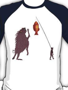 Gone Fishing, the Perils of Seeking Attention T-Shirt
