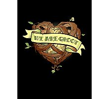 We Are Groot Photographic Print