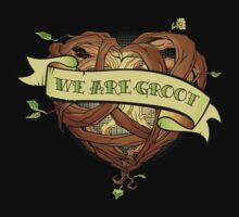 We Are Groot by RoguePlanets