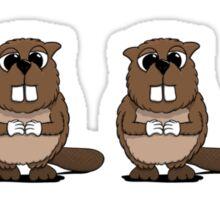 Eager Beaver! Sticker