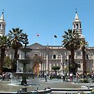 Arequipa Cathedral, Peru by Martyn Baker | Martyn Baker Photography