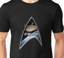 StarTrek Command Silver Signia Enterprise NX01 Unisex T-Shirt