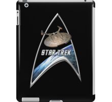 StarTrek Command Silver Signia Enterprise NX01 iPad Case/Skin