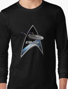 StarTrek Command Silver Signia Enterprise Sovereign E Long Sleeve T-Shirt