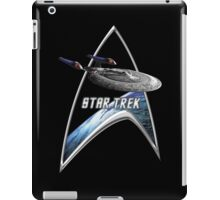 StarTrek Command Silver Signia Enterprise Sovereign E iPad Case/Skin