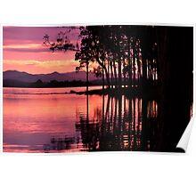lake samsonvale, queensland, australia Poster