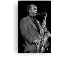 Jimmy Heath_2 Canvas Print