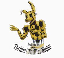 Springtrap - Thriller FNaF 3  by HikaruWeasley