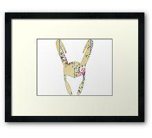 Floral Loki Framed Print