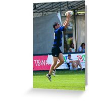 Rugby Sevens Tournament Greeting Card