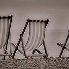 Three Deckchairs by Karen Martin IPA