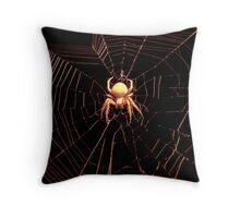 Come Into My Tangled Web.... Throw Pillow