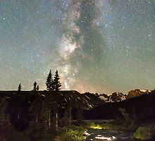 Rocky Mountain Night by Bo Insogna