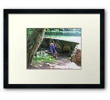 Two old relics.......?? Framed Print