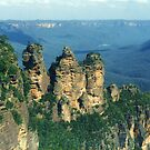 Blue Mountains of NSW by Michael John