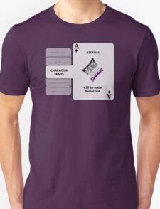 Asexual Character Bonus (Diamond Symbol) T-Shirt