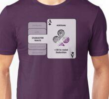 Asexual Character Bonus (Club Symbol) Unisex T-Shirt