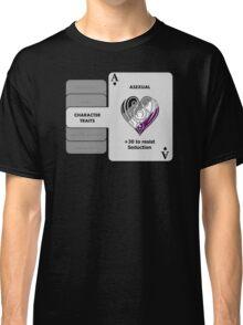 Asexual Character Bonus (Heart Symbol) Classic T-Shirt
