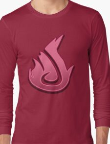 Guild Wars 2 Inspired Elementalist logo Long Sleeve T-Shirt