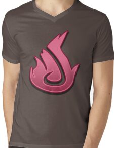 Guild Wars 2 Inspired Elementalist logo Mens V-Neck T-Shirt