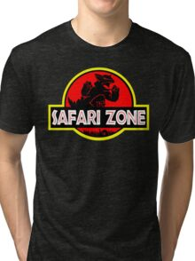 Safari Zone X Jurassic Park Tri-blend T-Shirt