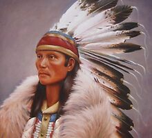 Chief Standing Wolf by Howard Searchfield