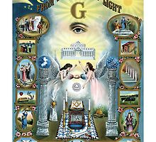 Freemasonry Darkness To Light by lawrencebaird