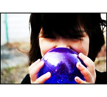 Look Into My Crystal Ball Photographic Print