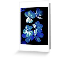 YOU SAY YOU HAVE THE BLUES JUST KEEP ON SMILEING  Greeting Card