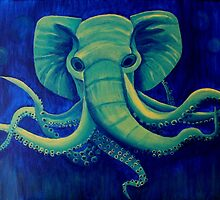 Octophant - Artwork by Minxi by Kari Sutyla
