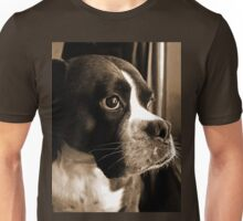 Arwen By The Window  -Boxer Dogs Series- Unisex T-Shirt
