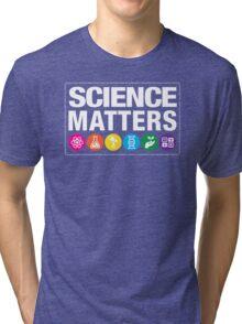 Science Matters Tri-blend T-Shirt