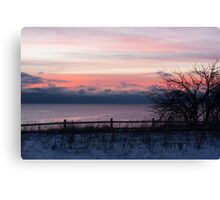 7:30 Sunrise Canvas Print