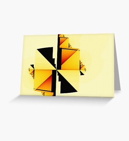 Simple Complexity Greeting Card
