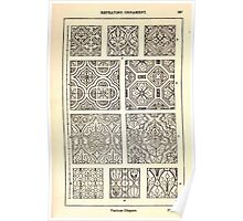 A Handbook Of Ornament With Three Hundred Plates Franz Sales Meyer 1896 0303 Repeating Ornament Various Diaper Poster